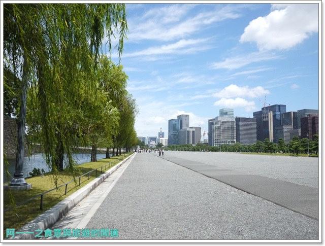 日本東京旅遊自助皇居外苑二重橋櫻田門和田倉噴水公園image019
