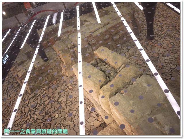 捷運松山線北門站台北博物館古蹟清代遺跡image022
