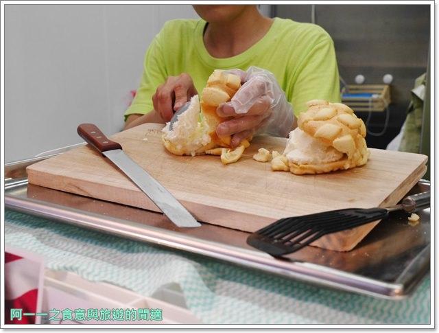 大阪心齋橋美食.世界第二好吃的現烤冰淇淋菠蘿麵包.龍蝦三明治image027