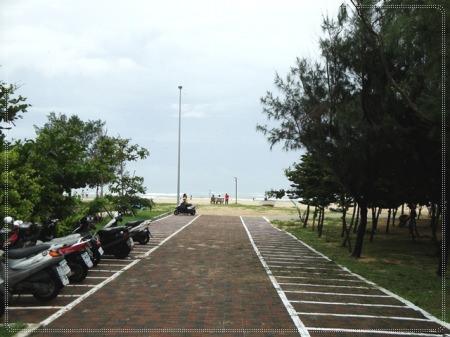 澎湖 隘門沙灘~烏雲密佈下的另一種風味