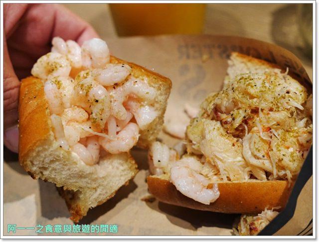 大阪心齋橋美食.世界第二好吃的現烤冰淇淋菠蘿麵包.龍蝦三明治image018