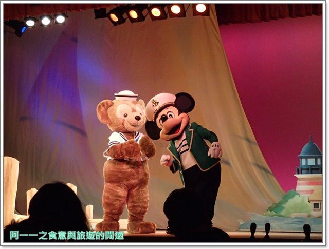 東京迪士尼海洋美食duffy達菲熊午餐秀gelatoniimage050