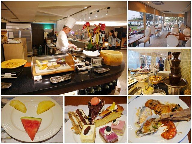 墾丁夏都沙灘酒店 愛琴海西餐廳 晚餐Buffet 屏東美食~多樣海鮮盡情吃,賴在飯店好選擇