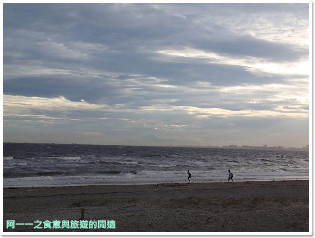 日本千葉景點東京自助旅遊幕張海濱公園富士山image033