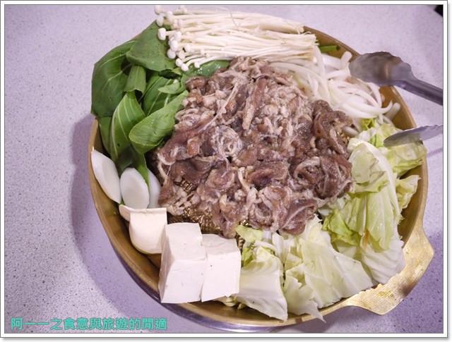 捷運行天宮站美食韓劇韓式料理東輝韓食館土豆豬骨湯銅板烤肉image018