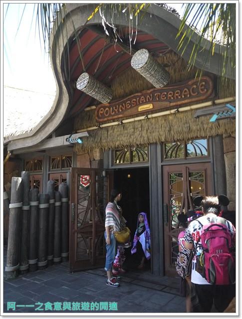 東京迪士尼樂園美食午餐秀煙燻火雞腿波里尼西亞草壇餐廳image016