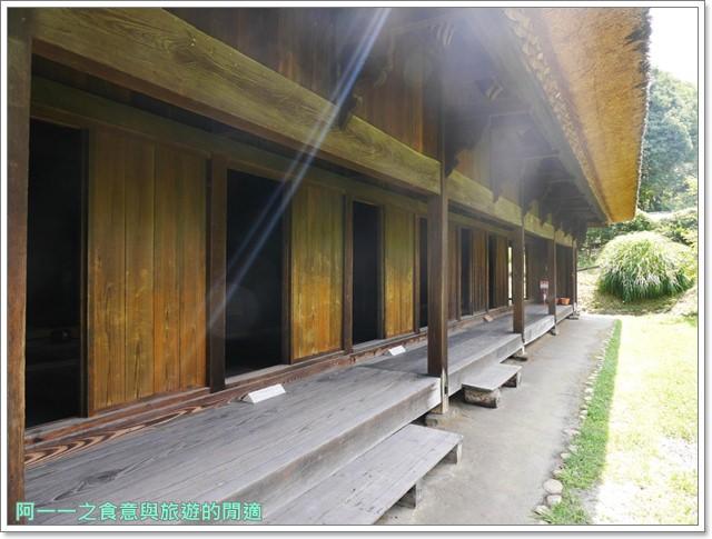 大阪親子景點.日本民家集落博物館.服步綠地.古蹟.老屋image037