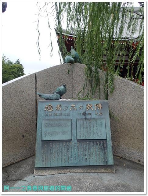 日本東京自助旅遊淺草雷門仲見世街image062