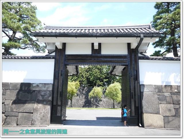 日本東京旅遊自助皇居外苑二重橋櫻田門和田倉噴水公園image008