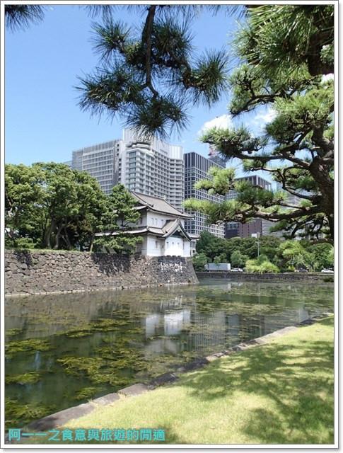日本東京旅遊自助皇居外苑二重橋櫻田門和田倉噴水公園image034