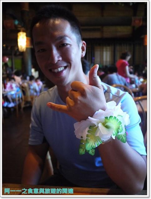 東京迪士尼樂園美食午餐秀煙燻火雞腿波里尼西亞草壇餐廳image019
