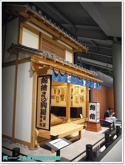 日本東京自助景點江戶東京博物館兩國image068