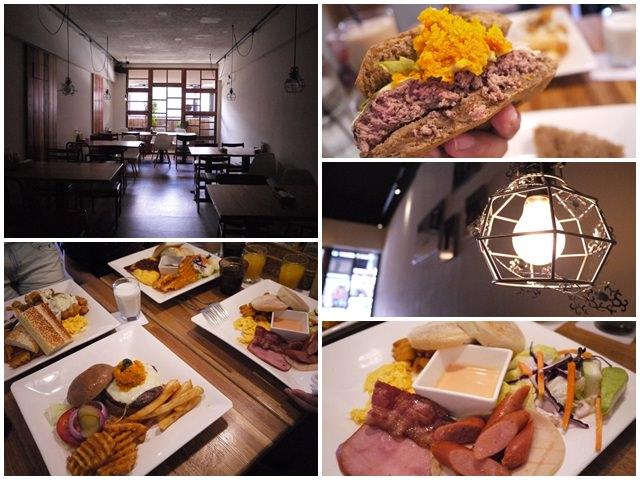 新北新店捷運大坪林站美食漢堡早午餐框框美式餐廳page