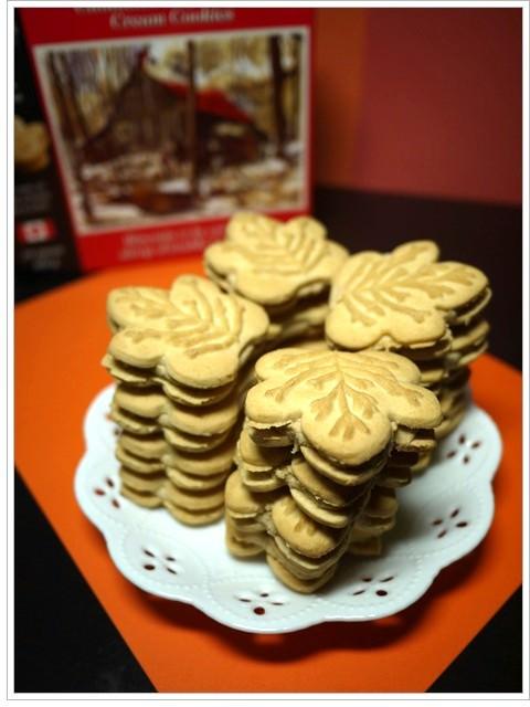 [試吃]我愛寶島52island 加拿大楓葉夾心餅乾~飄洋過海的特色甜點