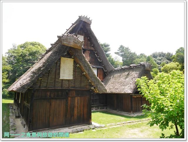 大阪親子景點.日本民家集落博物館.服步綠地.古蹟.老屋image060