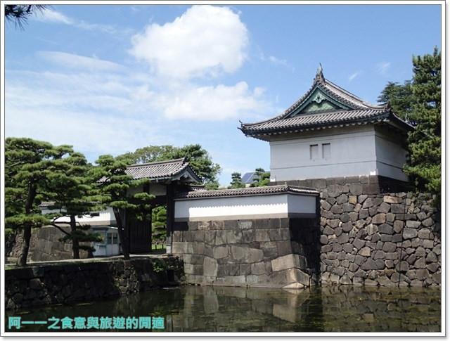 日本東京旅遊自助皇居外苑二重橋櫻田門和田倉噴水公園image033