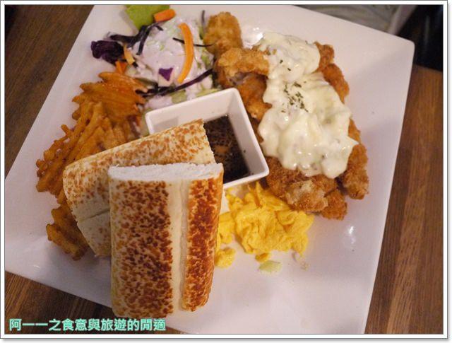 新北新店捷運大坪林站美食漢堡早午餐框框美式餐廳image018