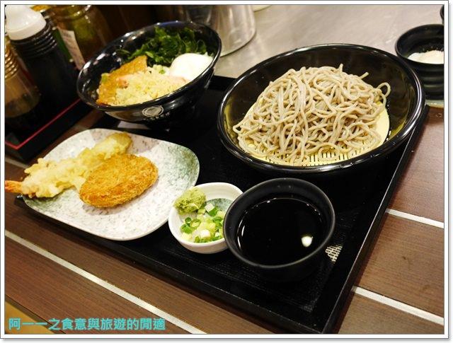 台中新光三越美食名代富士蕎麥麵平價炸物日式料理image023