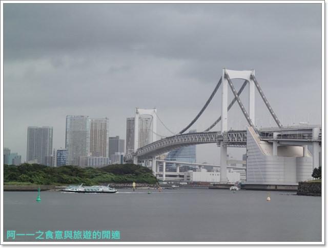 東京景點御台場海濱公園自由女神像彩虹橋水上巴士image019