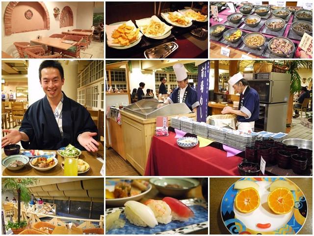 日本北海道 函館啄木亭溫泉飯店 地中海餐廳Buffet~阿一一北海道冬季賞雪之旅