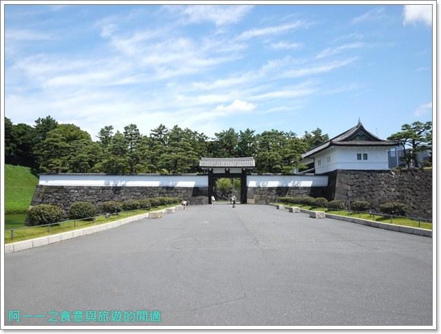 日本東京旅遊自助皇居外苑二重橋櫻田門和田倉噴水公園image006
