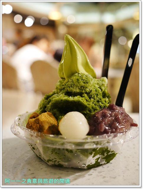 台北車站京站美食108 抹茶茶廊霜淇淋蕨餅剉冰image013