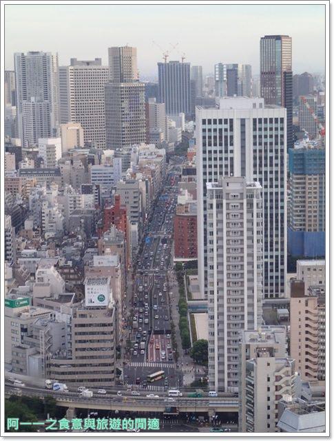 日本東京旅遊東京鐵塔芝公園夕陽tokyo towerimage032