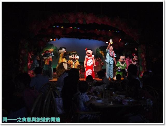 東京迪士尼樂園美食午餐秀煙燻火雞腿波里尼西亞草壇餐廳image027