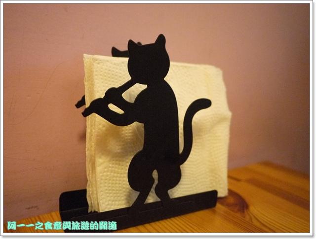 台中貓餐廳立體貓拉花貓旅行咖啡輕食館image031