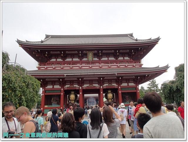 日本東京自助旅遊淺草雷門仲見世街image052