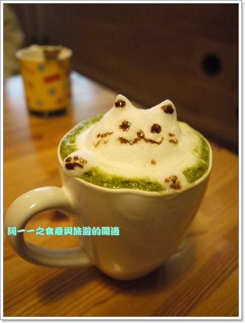 台中貓餐廳立體貓拉花貓旅行咖啡輕食館image059
