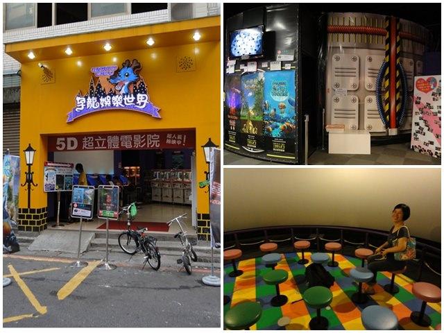 台北板橋 孕龍娛樂世界(遷移至麗寶樂園) Mega 3D 360度超立體劇院~超臨場感的5D體驗