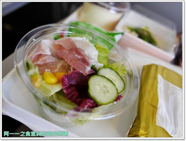 日本關西空港自助旅遊桃園機場第二航廈日航飛機餐image048