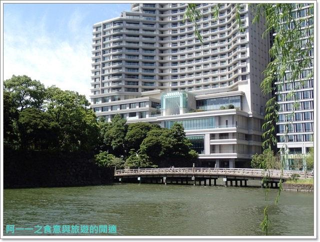 日本東京旅遊自助皇居外苑二重橋櫻田門和田倉噴水公園image061