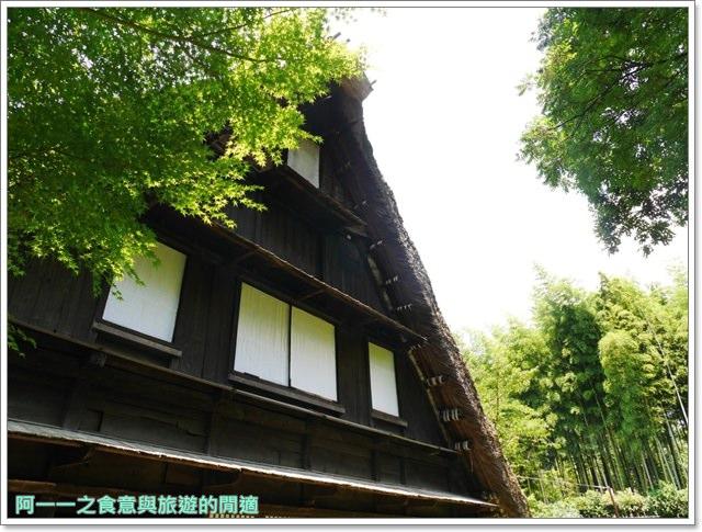 大阪親子景點.日本民家集落博物館.服步綠地.古蹟.老屋image061