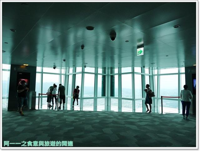 捷運台北101景點89樓觀景台阻尼器摩天大樓image019