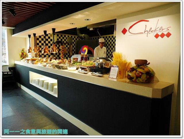 台北車站美食凱撒大飯店checkers自助餐廳吃到飽螃蟹馬卡龍image048