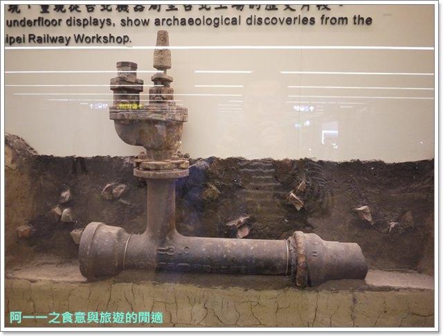 捷運松山線北門站台北博物館古蹟清代遺跡image016