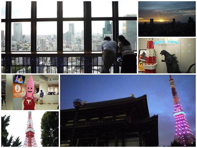 東京景點 東京鐵塔 赤羽橋車站 浪漫賞夕陽~阿一一日本東京自助之旅