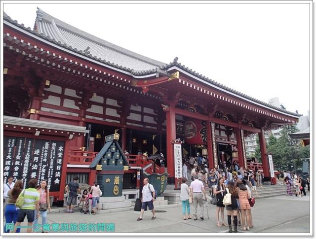 日本東京自助旅遊淺草雷門仲見世街image059