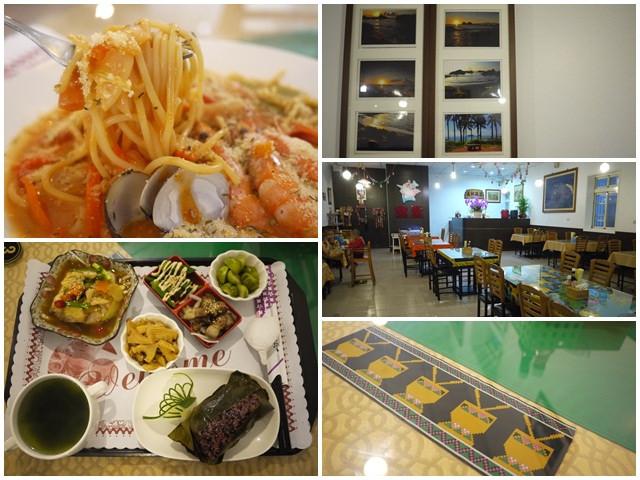 台東成功美食海鮮神豬食堂原住民風味餐義大利麵簡餐page