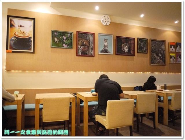 台中貓餐廳立體貓拉花貓旅行咖啡輕食館image009