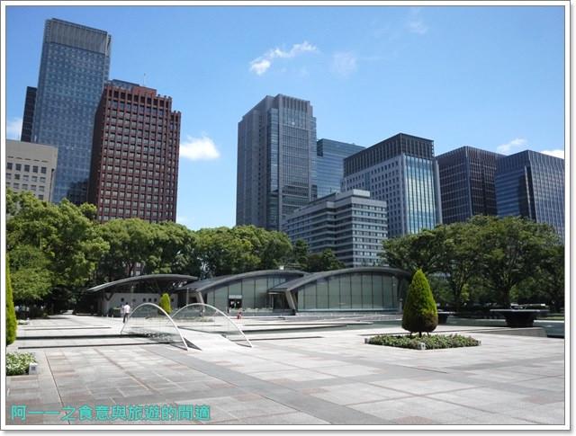 日本東京旅遊自助皇居外苑二重橋櫻田門和田倉噴水公園image050