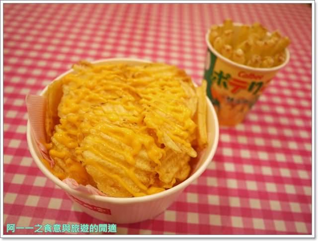 東京台場美食Calbee薯條築地銀だこGINDACO章魚燒image027