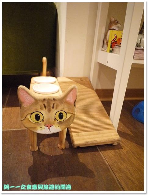 台中貓餐廳立體貓拉花貓旅行咖啡輕食館image033