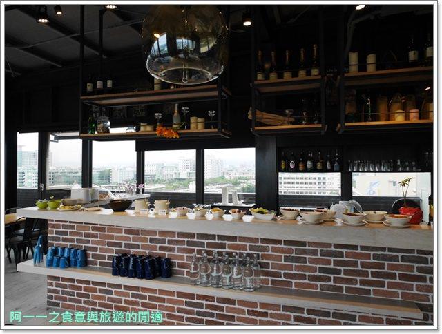 台中逢甲夜市住宿默砌旅店hotelcube飯店景觀餐廳image052