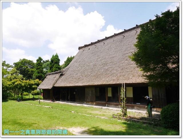 大阪親子景點.日本民家集落博物館.服步綠地.古蹟.老屋image058