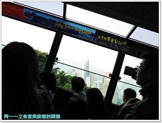 香港旅遊太平山夜景山頂纜車聖約翰座堂凌霄閣摩天台山頂廣場image045
