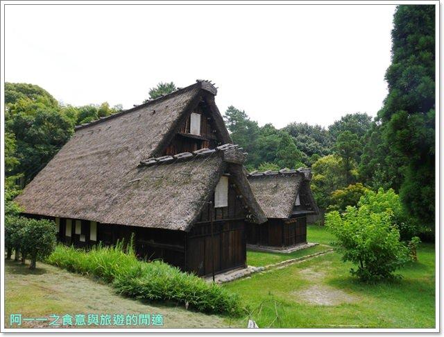 大阪親子景點.日本民家集落博物館.服步綠地.古蹟.老屋image059