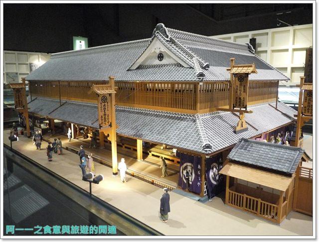 日本東京自助景點江戶東京博物館兩國image059